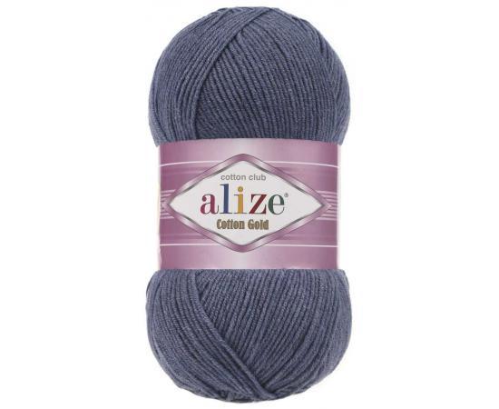 Пряжа ALIZE COTTON GOLD 203 джинсовый меланж, Цвет: 203 джинсовый меланж