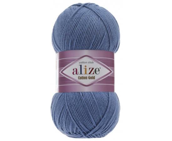 Пряжа ALIZE COTTON GOLD 236 джинсовый, Цвет: 236 джинсовый
