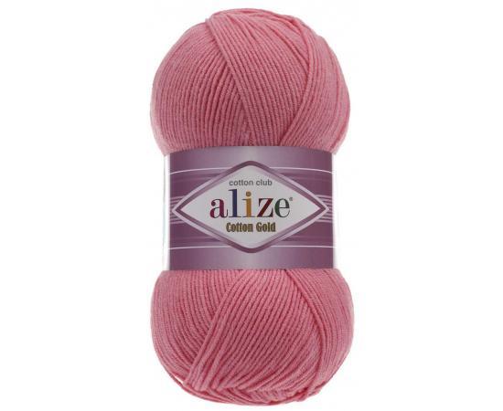 Пряжа ALIZE COTTON GOLD 33 ярко-розовый, Цвет: 33 ярко-розовый