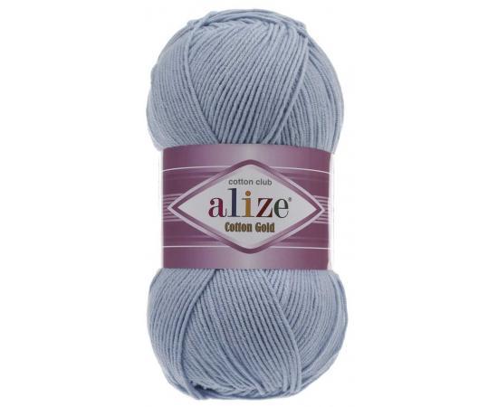 Пряжа ALIZE COTTON GOLD 40 голубой, Цвет: 40 голубой
