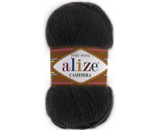 Пряжа ALIZE CASHMIRA 521 антрацит, Цвет: 521 антрацит