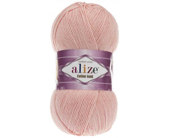 Пряжа ALIZE COTTON GOLD 393 светло-розовый, Цвет: 393 светло-розовый