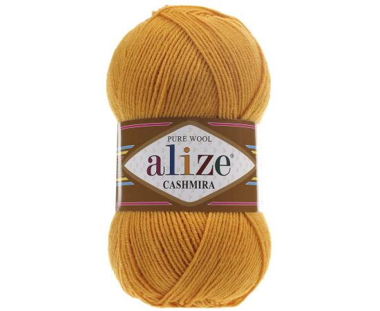 Пряжа ALIZE CASHMIRA 14 желток, Цвет: 14 желток