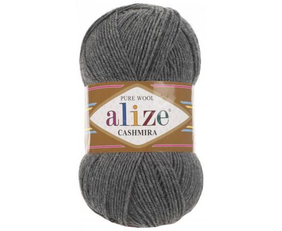 Пряжа ALIZE CASHMIRA 182 серый меланж, Цвет: 182 серый меланж