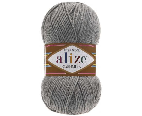 Пряжа ALIZE CASHMIRA 21 светло-серый меланж, Цвет: 21 светло-серый меланж