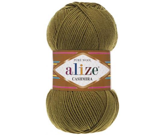 Пряжа ALIZE CASHMIRA 233 зел.черепаха, Цвет: 233 зел.черепаха