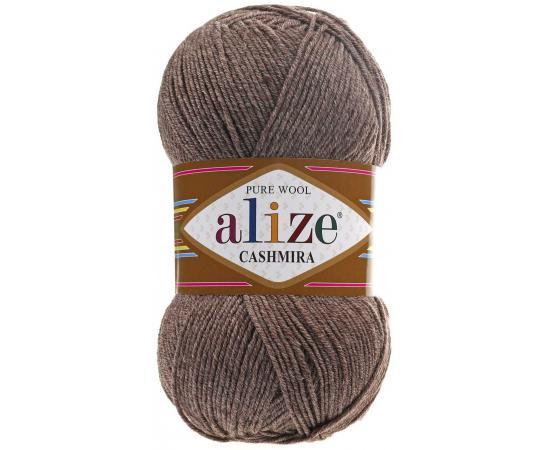 Пряжа ALIZE CASHMIRA 240 св.коричневый меланж, Цвет: 240 св.коричневый меланж