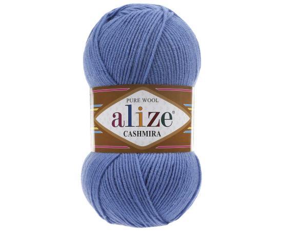 Пряжа ALIZE CASHMIRA 303 т.голубой, Цвет: 303 т.голубой