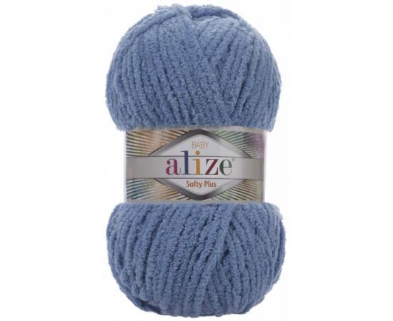 Пряжа ALIZE SOFTY PLUS 374 джинсовый, Цвет: 374 джинсовый