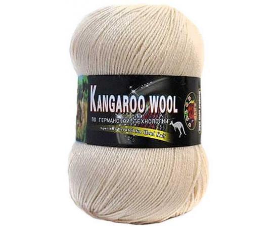 Пряжа COLOR CITY KANGAROO WOOL 111 крем, Цвет: 111 крем