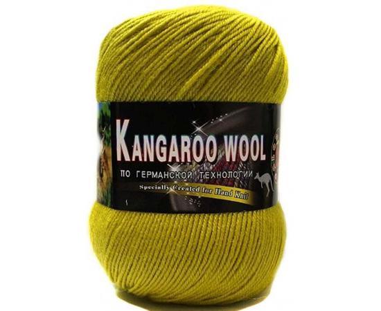 Пряжа COLOR CITY KANGAROO WOOL 121 липа, Цвет: 121 липа