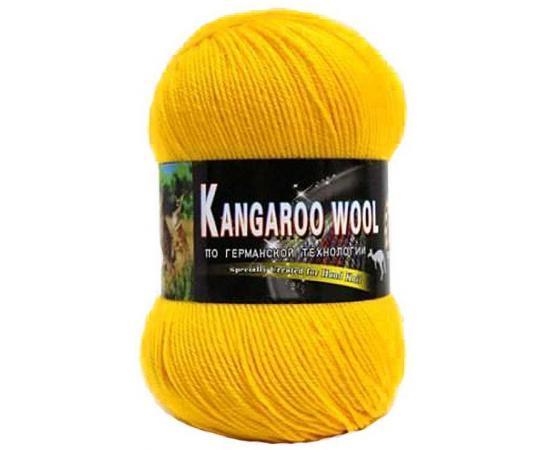 Пряжа COLOR CITY KANGAROO WOOL 2104 желтый, Цвет: 2104 желтый