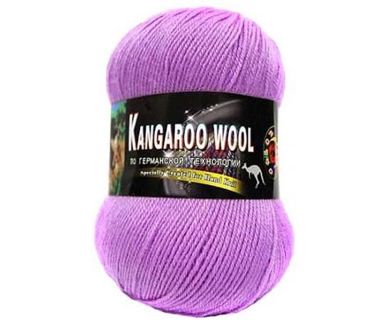 Пряжа COLOR CITY KANGAROO WOOL 218F фуксия, Цвет: 218F фуксия