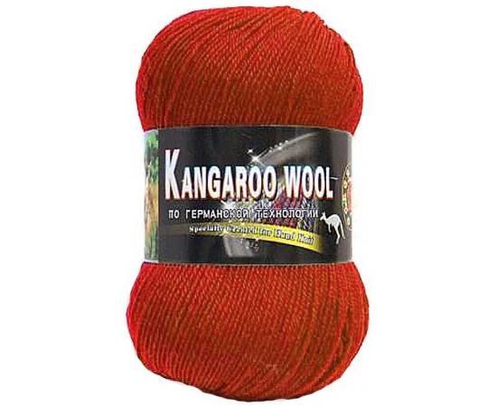 Пряжа COLOR CITY KANGAROO WOOL 2210 терракот, Цвет: 2210 терракот