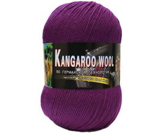 Пряжа COLOR CITY KANGAROO WOOL 2218 фиолет, Цвет: 2218 фиолет
