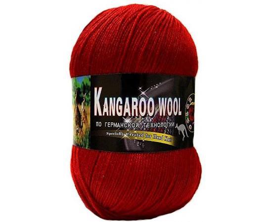 Пряжа COLOR CITY KANGAROO WOOL 2221 красный, Цвет: 2221 красный