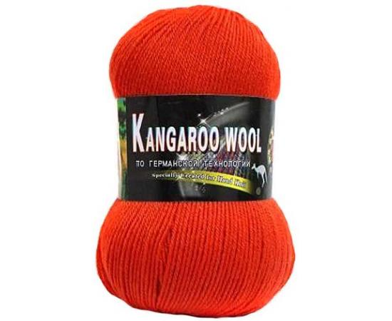 Пряжа COLOR CITY KANGAROO WOOL 2222 алый, Цвет: 2222 алый