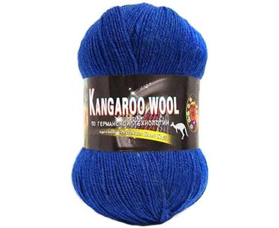 Пряжа COLOR CITY KANGAROO WOOL 2309 синий, Цвет: 2309 синий
