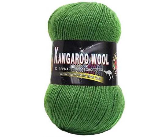 Пряжа COLOR CITY KANGAROO WOOL 2416 зеленый, Цвет: 2416 зеленый