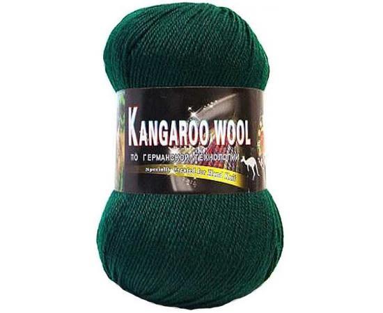 Пряжа COLOR CITY KANGAROO WOOL 2427 темно-зеленый, Цвет: 2427 темно-зеленый