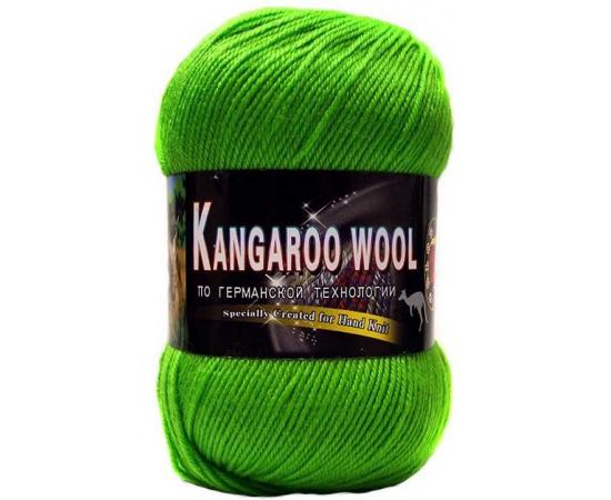 Пряжа COLOR CITY KANGAROO WOOL 2450 яр.зелень, Цвет: 2450 яр.зелень