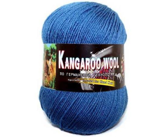 Пряжа COLOR CITY KANGAROO WOOL 2506 джинс, Цвет: 2506 джинс