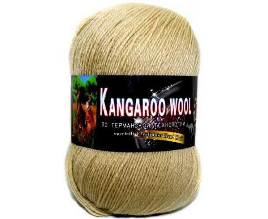 Пряжа COLOR CITY KANGAROO WOOL 2507 песочный, Цвет: 2507 песочный