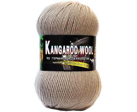Пряжа COLOR CITY KANGAROO WOOL 2517 серо-беж, Цвет: 2517 серо-беж