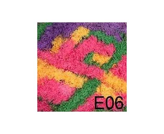 Пряжа COLOR CITY KING (КИНГ) 06 роз/желт/фиол/зел, Цвет: 06 роз/желт/фиол/зел