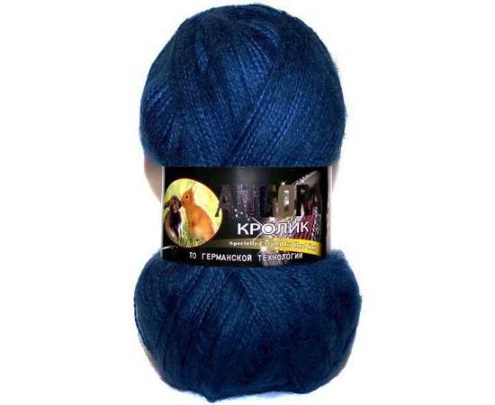 Пряжа COLOR CITY АНГОРА КРОЛИК 2313 темно-синий, Цвет: 2313 темно-синий