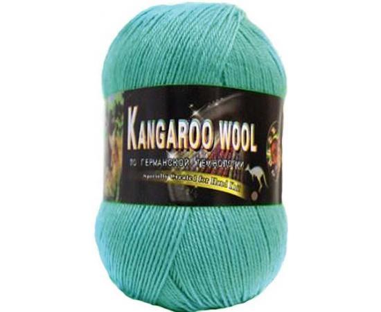 Пряжа COLOR CITY KANGAROO WOOL 036 мята, Цвет: 036 мята