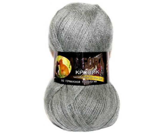 Пряжа COLOR CITY АНГОРА КРОЛИК 29602 серый, Цвет: 29602 серый