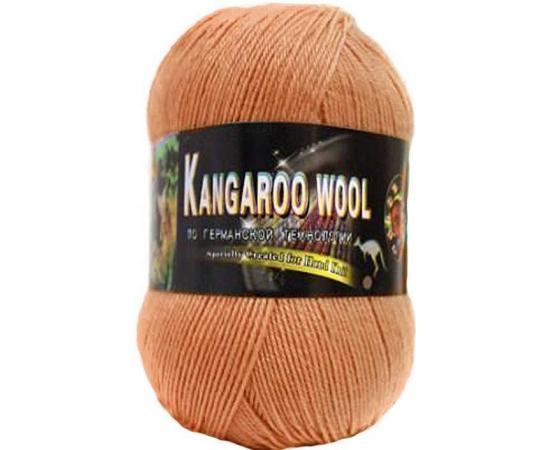 Пряжа COLOR CITY KANGAROO WOOL 2144 оранжевый, Цвет: 2144 оранжевый