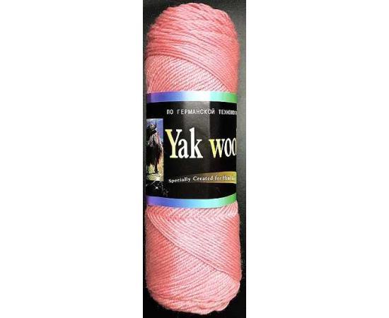Пряжа COLOR CITY YAK WOOL (ЯК ВУЛ) 2202 розовый, Цвет: 2202 розовый