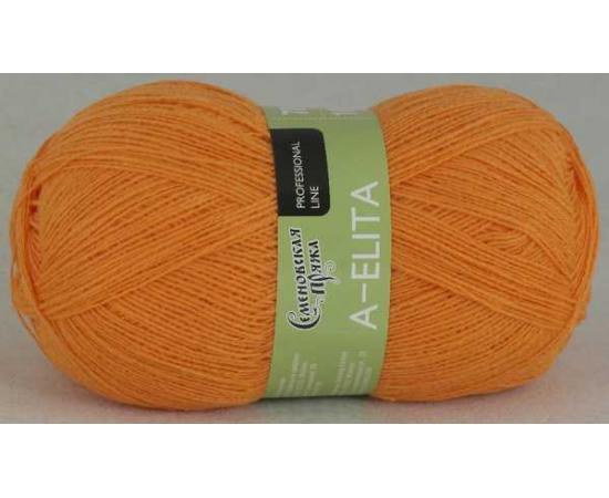 Пряжа Семеновская АЭЛИТА 154 абрикос, Цвет: 154 абрикос