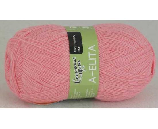 Пряжа Семеновская АЭЛИТА 20 розовый, Цвет: 20 розовый
