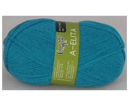Пряжа Семеновская АЭЛИТА 290 бир.голубая, Цвет: 290 бир.голубая