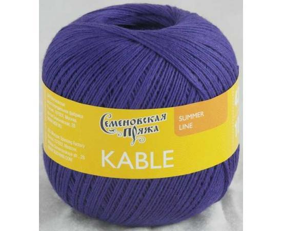 Пряжа Семеновская КАБЛЕ 30071 фиолет_х1, Цвет: 30071 фиолет_х1