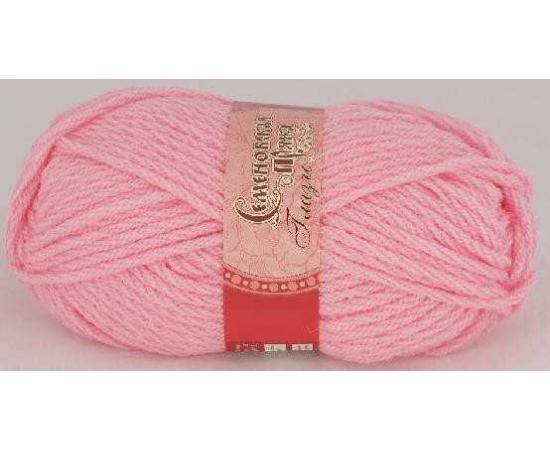Пряжа Семеновская ГЛАЗГО 79 ярко-розовый, Цвет: 79 ярко-розовый