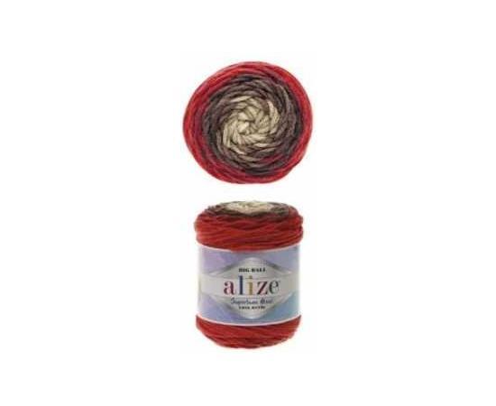 Пряжа ALIZE SUPERLANA MAXI LONG BATIK 6772 коричневый, Цвет: 6772 коричневый, изображение 2