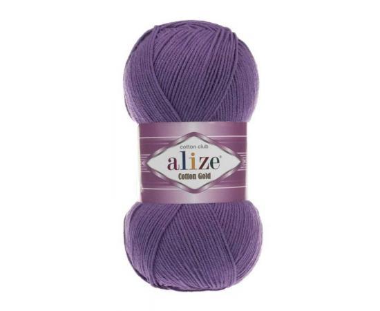 Пряжа ALIZE COTTON GOLD 44 фиолетовый, Цвет: 44 фиолетовый