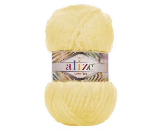 Пряжа ALIZE SOFTY PLUS 13 св.лимон, Цвет: 13 св.лимон