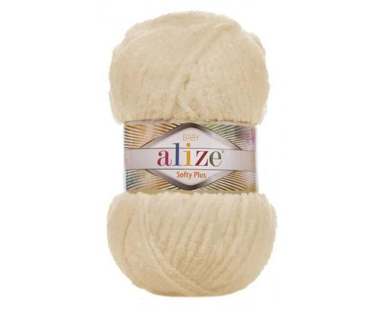 Пряжа ALIZE SOFTY PLUS 310 мёд, Цвет: 310 мёд