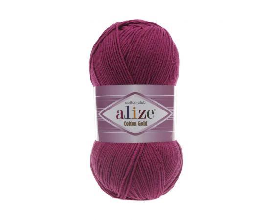 Пряжа ALIZE COTTON GOLD 649 рубин, Цвет: 649 рубин