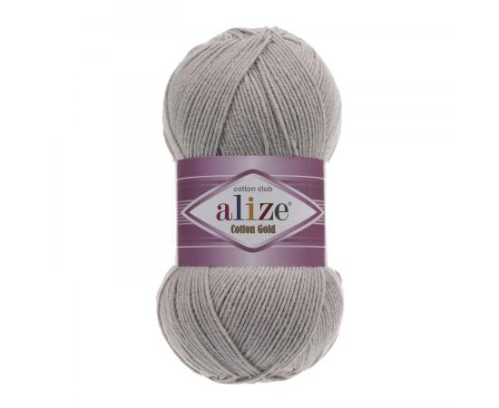 Пряжа ALIZE COTTON GOLD 200 светло-серый, Цвет: 200 светло-серый