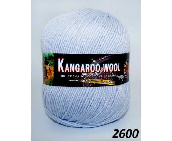 Пряжа COLOR CITY KANGAROO WOOL 2600 перванш, Цвет: 2600 перванш