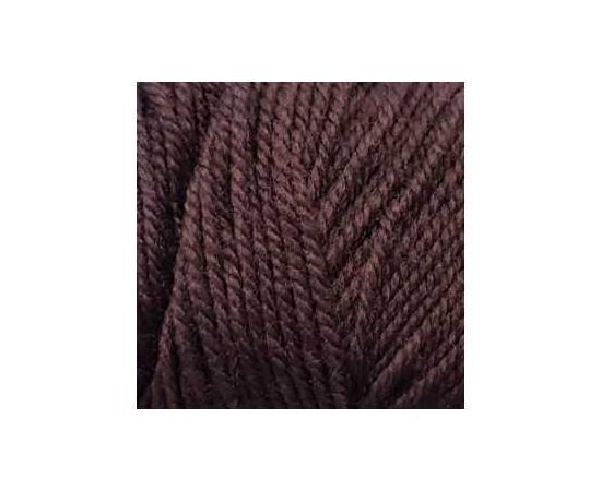 Пряжа COLOR CITY YAK WOOL (ЯК ВУЛ) 6528 т.коричневый, Цвет: 6528 т.коричневый