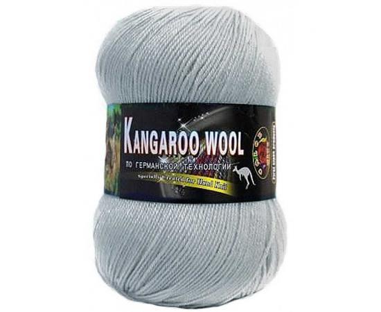 Пряжа COLOR CITY KANGAROO WOOL 2602 св.серо-голубой, Цвет: 2602 св.серо-голубой