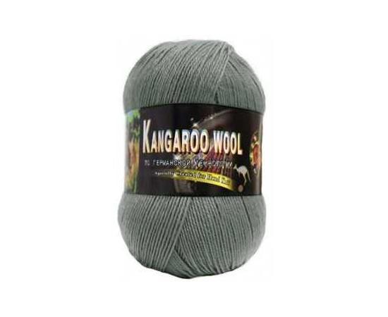 Пряжа COLOR CITY KANGAROO WOOL 2606 серый, Цвет: 2606 серый