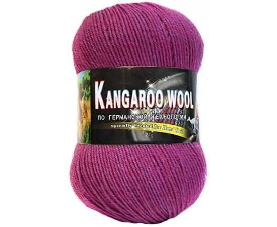 Пряжа COLOR CITY KANGAROO WOOL 2946 т.брусника, Цвет: 2946 т.брусника